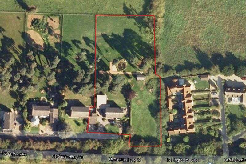 5 Bedrooms Detached House for sale in Hertingfordbury, Nr Hertford, Hertfordshire