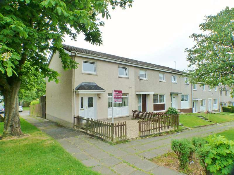 3 Bedrooms End Of Terrace House for sale in Glen Feshie, St Leonards, EAST KILBRIDE