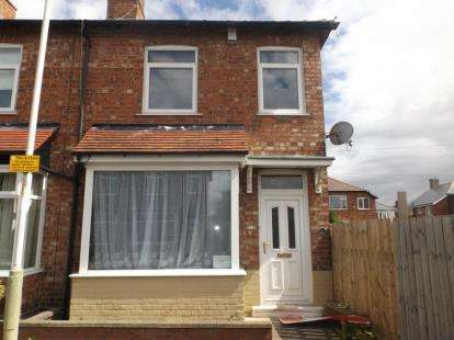 2 Bedrooms End Of Terrace House for sale in Hawthorn Street, Darlington, Durham