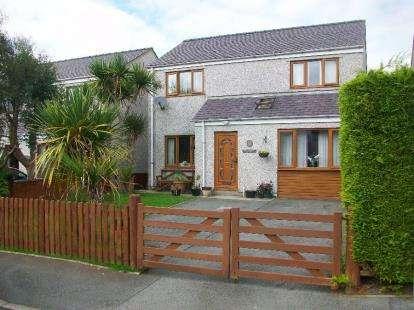 4 Bedrooms House for sale in Nant Y Glyn, Llanrug, Caernarfon, Gwynedd, LL55