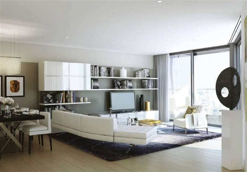 3 Bedrooms Property for sale in Five Riverlight Quay, Nine Elms, London, SW8