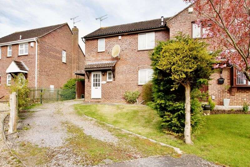 3 Bedrooms Semi Detached House for sale in Castlefield Close, Eastleaze, Wiltshire
