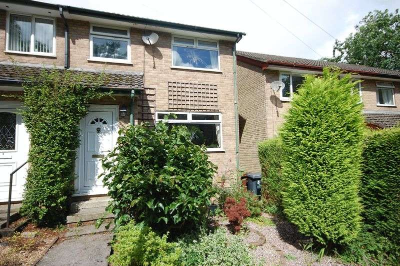 3 Bedrooms Semi Detached House for sale in Longclough Drive, Glossop
