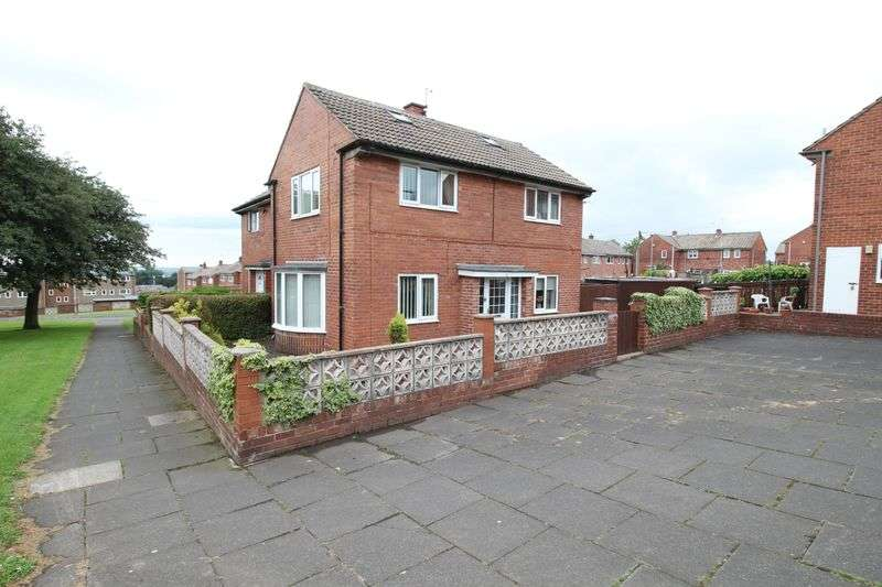 3 Bedrooms Semi Detached House for sale in Wardenlaw, Gateshead