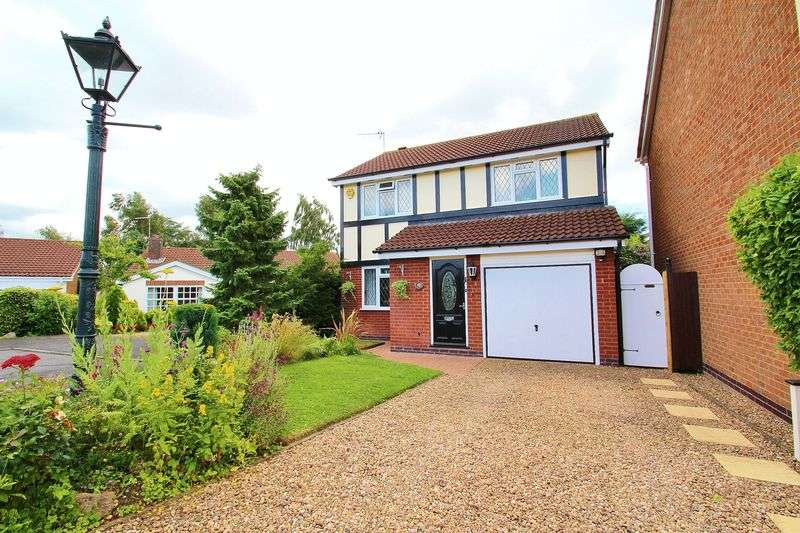 4 Bedrooms Detached House for sale in Wooldale Close, Anstey, Leicestershire