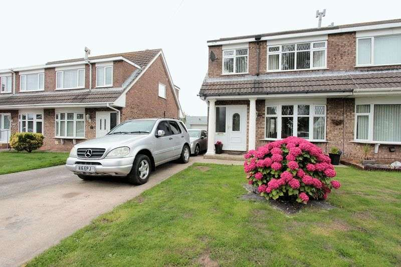 3 Bedrooms Semi Detached House for sale in Gors Road, Towyn, Abergele