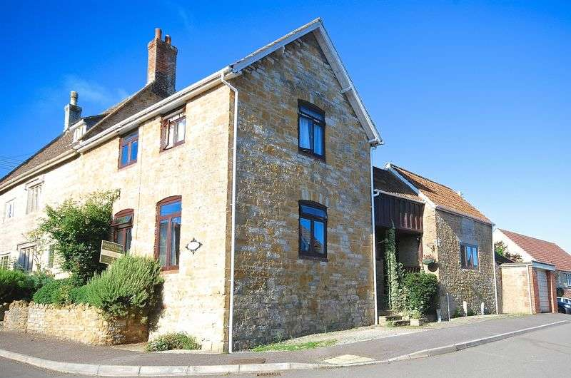 3 Bedrooms Semi Detached House for sale in NORTH CADBURY - Near Castle Cary