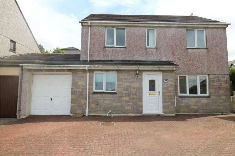3 Bedrooms Link Detached House for sale in Parc An Bans, Camborne, Cornwall