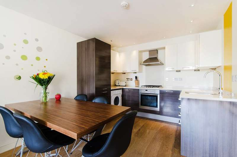 2 Bedrooms Flat for sale in Mill Cross Court, Brentford, TW8