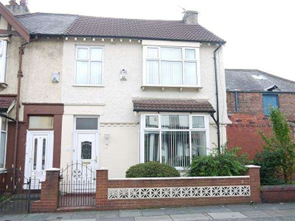 3 Bedrooms Semi Detached House for sale in Albany Road, Aintree