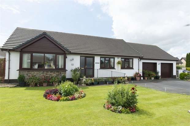 3 Bedrooms Detached Bungalow for sale in Dol Y Dderwen, Llangain, Carmarthen