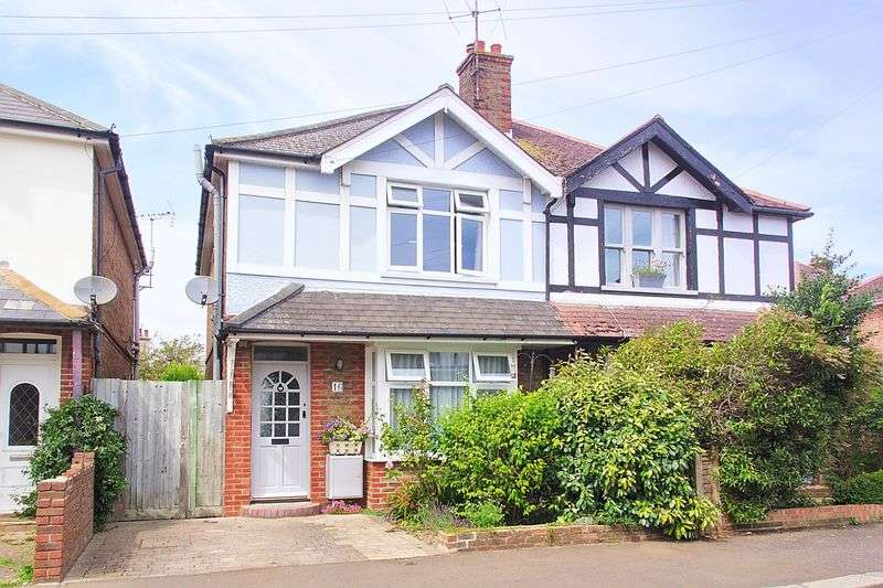 3 Bedrooms Semi Detached House for sale in Kenilworth Road, Bognor Regis PO21