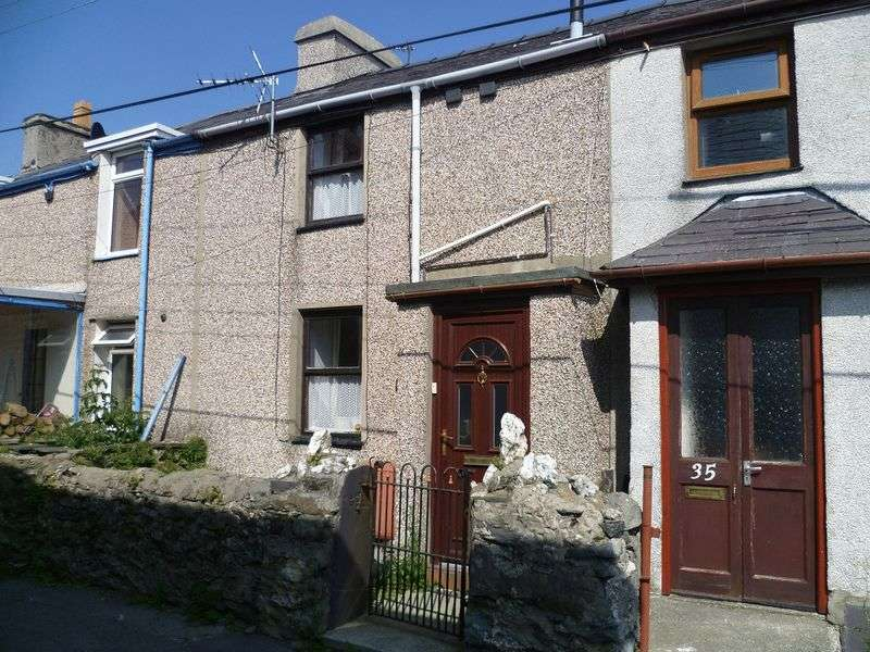 3 Bedrooms Terraced House for sale in Rachub