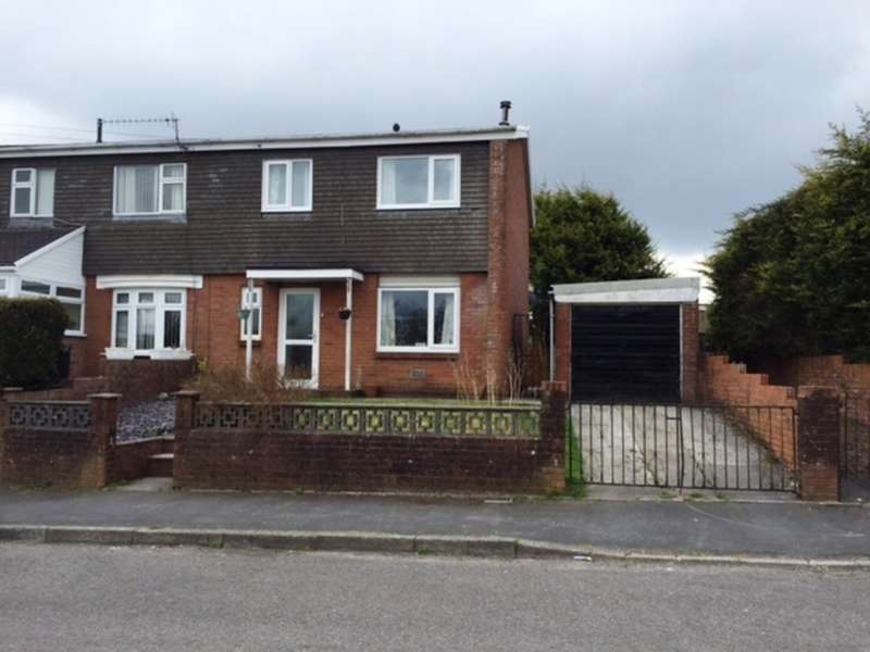 3 Bedrooms Semi Detached House for sale in Shirley Drive, Heolgerrig, Merthyr Tydfil