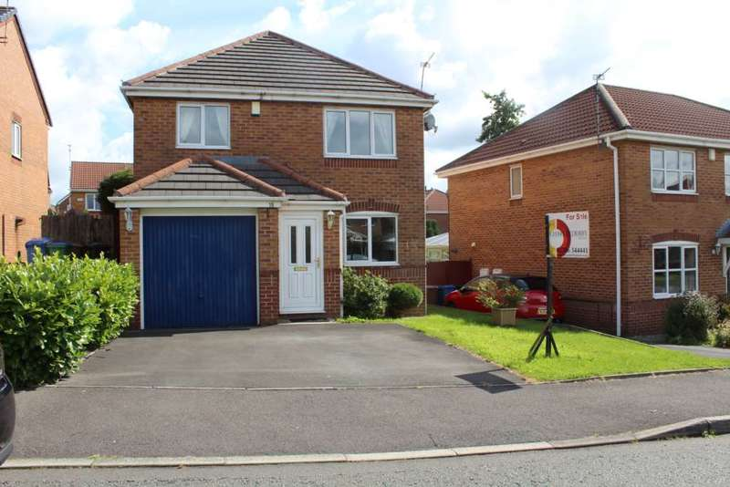 3 Bedrooms Detached House for sale in Heapfold, Norden