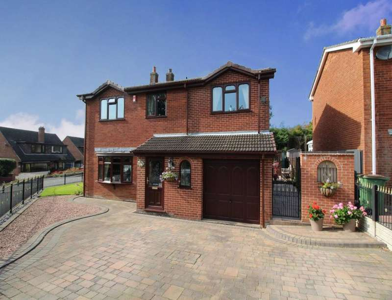 5 Bedrooms Detached House for sale in Ashby Lane, Blackfordby, Swadlincote, DE11