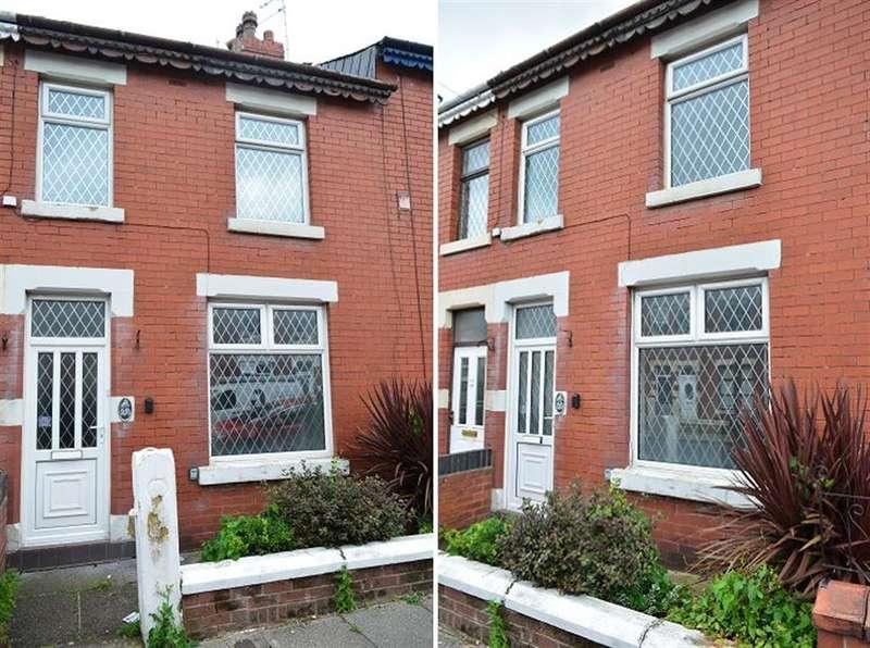 2 Bedrooms Terraced House for sale in Cunliffe Road, Blackpool, FY1 6RU