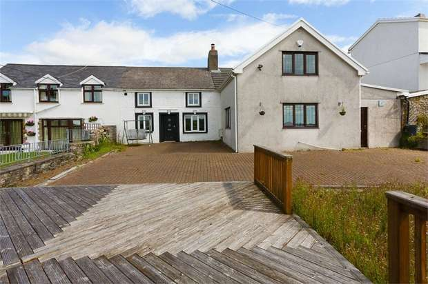 4 Bedrooms Semi Detached House for sale in Pentwyn Road, Pencoed, Bridgend, Mid Glamorgan