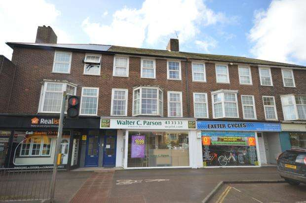 4 Bedrooms Maisonette Flat for sale in Topsham Road, St Leonards, Exeter, Devon