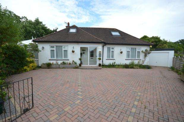 4 Bedrooms Detached Bungalow for sale in Coulsdon Road, Sidmouth, Devon