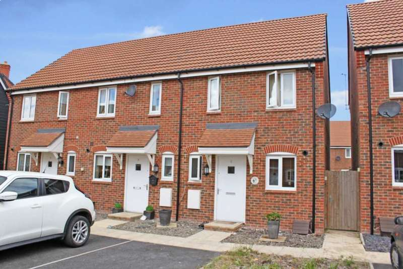 2 Bedrooms End Of Terrace House for sale in Maple Road, Didcot