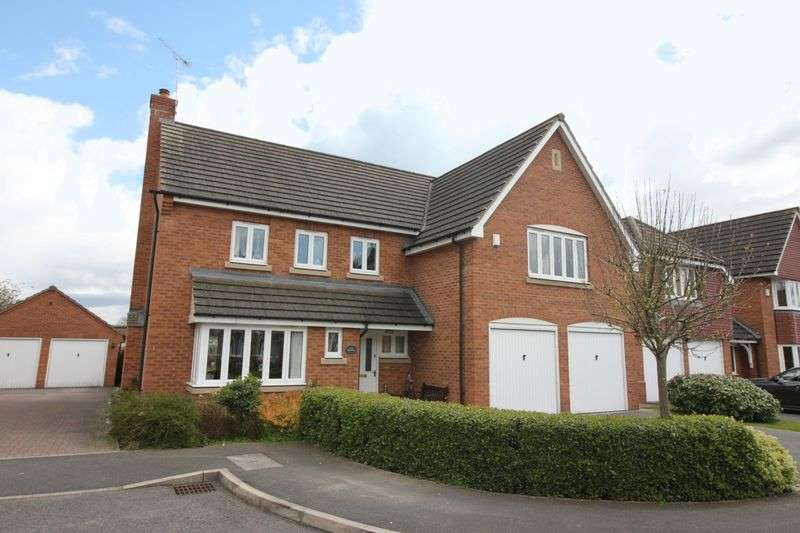 5 Bedrooms Detached House for sale in Sycamore Close, Retford