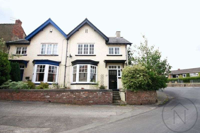 3 Bedrooms Semi Detached House for sale in The Green, Aycliffe Village