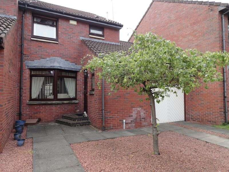 3 Bedrooms Semi Detached House for sale in Broomfauld Gardens, Dumbarton