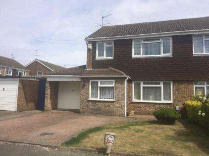3 Bedrooms Semi Detached House for sale in Ilford Close, Luton, Bedfordshire