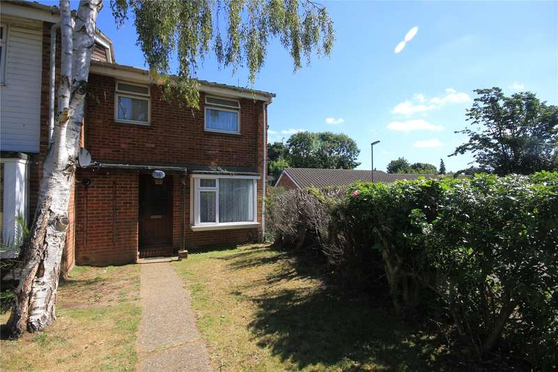 3 Bedrooms End Of Terrace House for sale in Ridsdale Road, Woking, Surrey, GU21