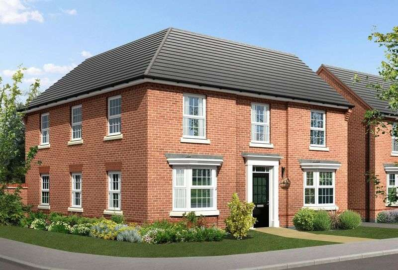 4 Bedrooms Detached House for sale in Hilary Bevins Close, Nuneaton