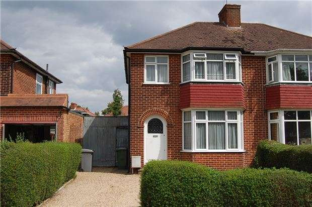 3 Bedrooms Semi Detached House for sale in Wimborne Drive, KINGSBURY, NW9 9UA