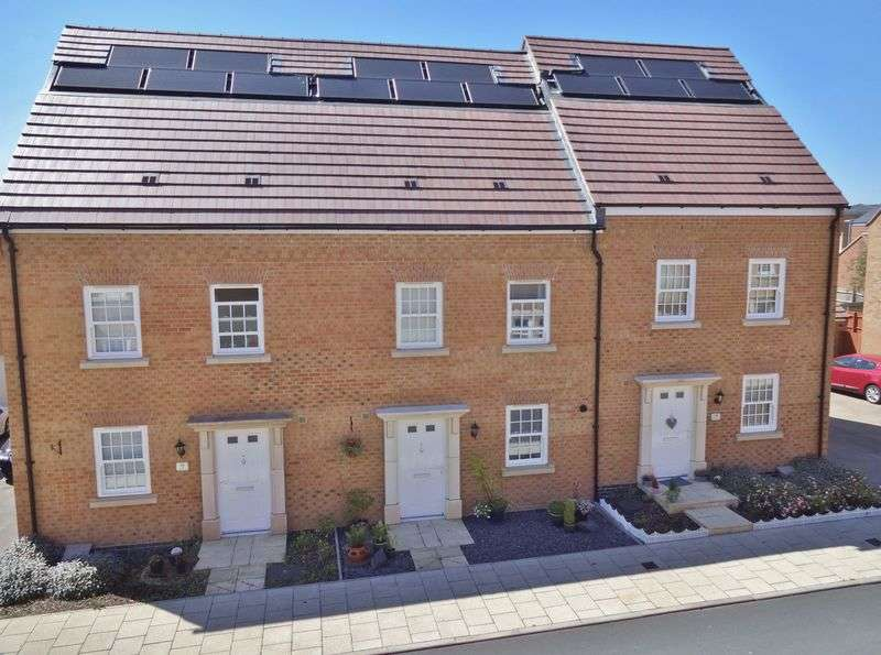 3 Bedrooms Terraced House for sale in Eydon Drive, Priors Hall, Corby