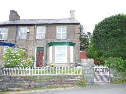 3 Bedrooms Semi Detached House for sale in Minffordd, Penrhyndeudraeth, Gwynedd, LL48