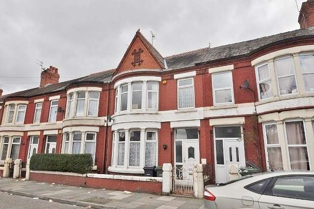 4 Bedrooms House for sale in Mainwaring Road, Wallasey