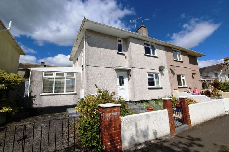 3 Bedrooms Semi Detached House for sale in Marine Drive, Torpoint