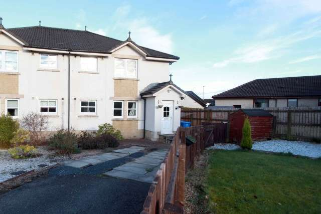 2 Bedrooms Flat for sale in Hetherington Drive, Clackmannan, Clackmannanshire, FK10 4HQ