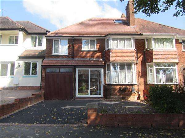 5 Bedrooms Semi Detached House for sale in Wychall Road, Northfield, Birmingham
