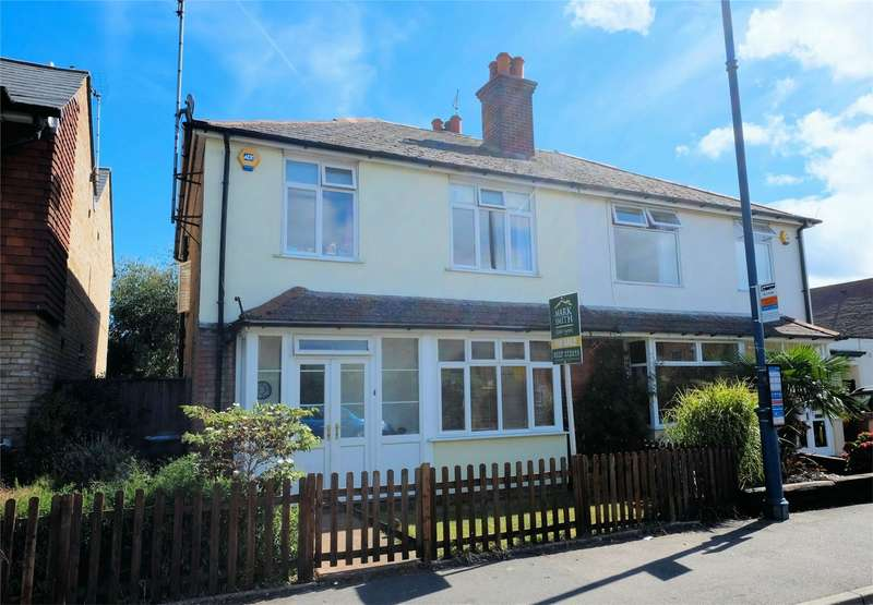 3 Bedrooms Semi Detached House for sale in Cromwell Road, WHITSTABLE, Kent