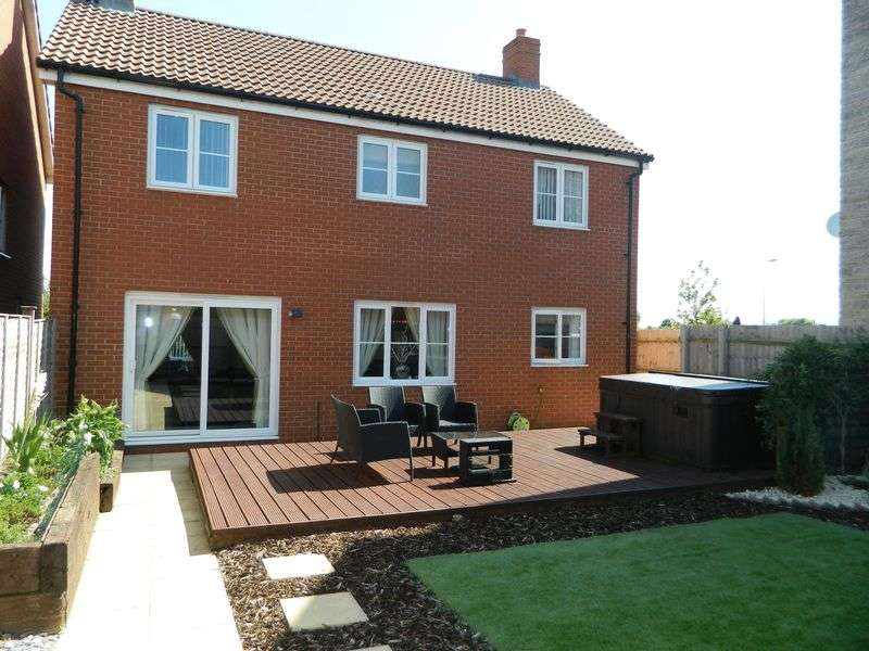 4 Bedrooms Detached House for sale in WEST WICK