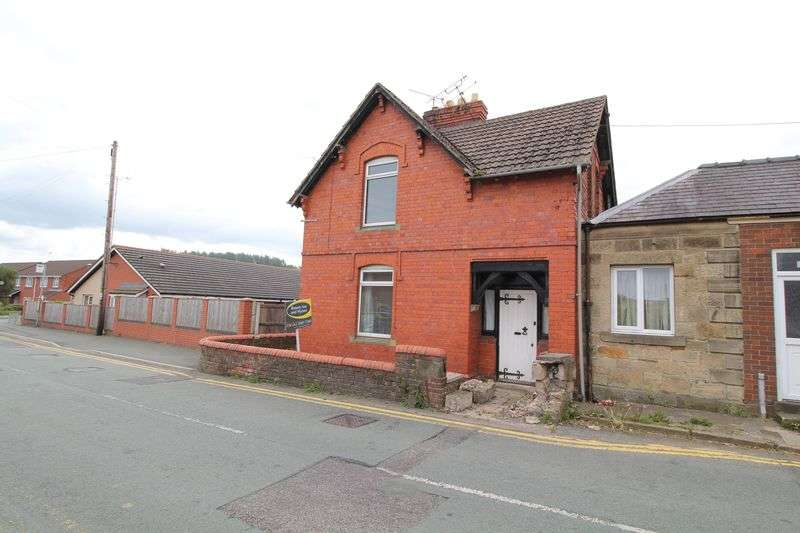 3 Bedrooms Semi Detached House for sale in Colliery Road, Chirk
