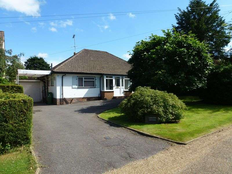 3 Bedrooms Detached Bungalow for sale in WESTHUMBLE - BUNGALOW WITH SCOPE FOR IMPROVEMENT & TO EXTEND S.T.P.P.
