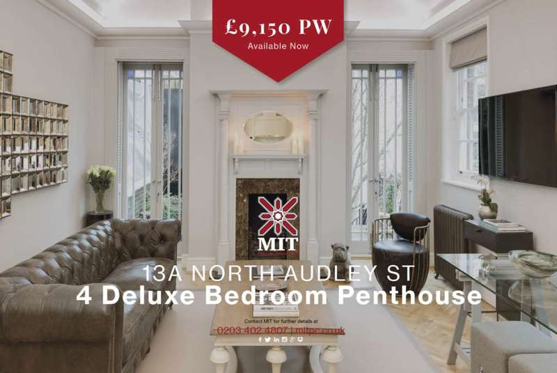 4 Bedrooms Apartment Flat for rent in North Audley Street, Mayfair