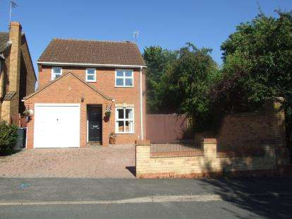 3 Bedrooms Detached House for sale in Clowbridge Drive, Loughborough, Leicestershire