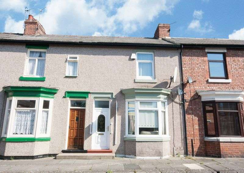 2 Bedrooms Terraced House for sale in Milner Road, Darlington, DL1 5EU