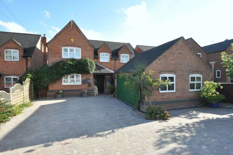4 Bedrooms Detached House for sale in Branston Road, Tatenhill