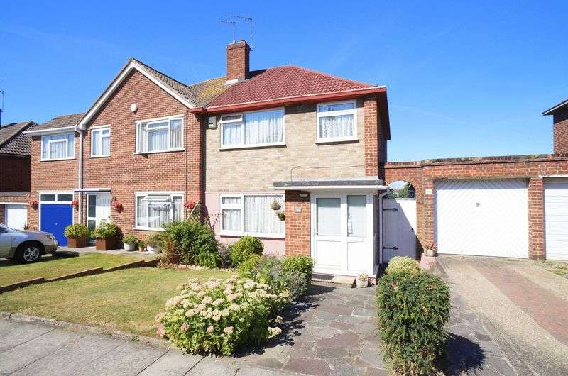4 Bedrooms Semi Detached House for sale in Felton Lea, Sidcup, DA14 6BA