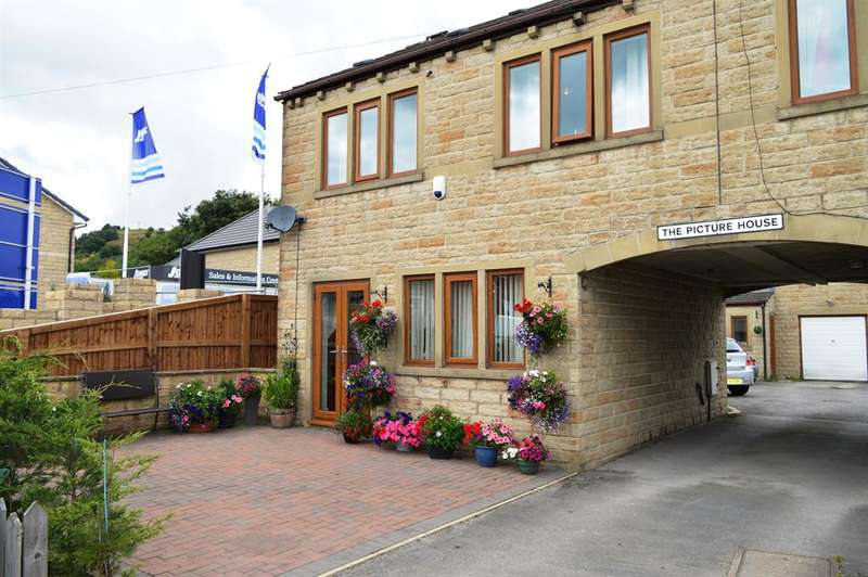 3 Bedrooms Semi Detached House for sale in The Picture House, Golcar, Huddersfield, HD7 4QB