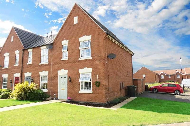 3 Bedrooms End Of Terrace House for sale in Glengarry Way, Greylees