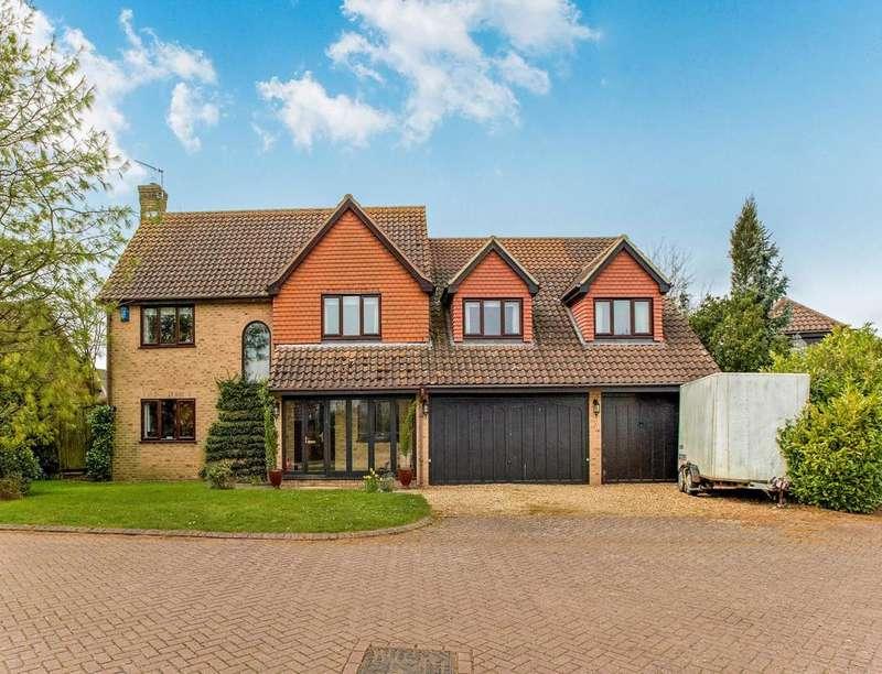 5 Bedrooms Detached House for sale in Stanbrook Way, Yielden, Bedford, MK44